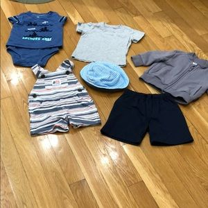5 pieces of baby clothes for one price